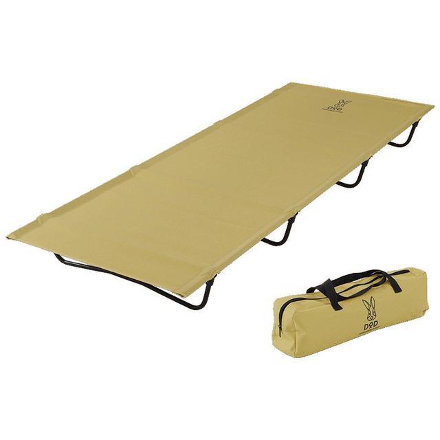 画像1: 【レビュー】DODの「バッグインベッド」でお昼寝が快適に! 組み立て簡単なキャンプ用コット