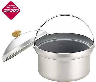 画像1: ユニフレーム『ライスクッカー』で炊飯 屋外で炊き立てご飯を食べよう!