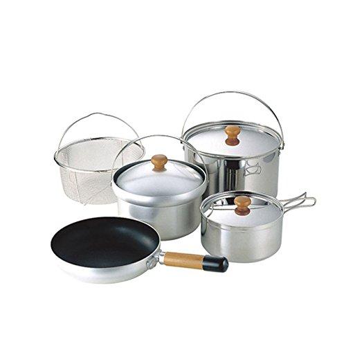 画像3: ユニフレーム『ライスクッカー』で炊飯 屋外で炊き立てご飯を食べよう!