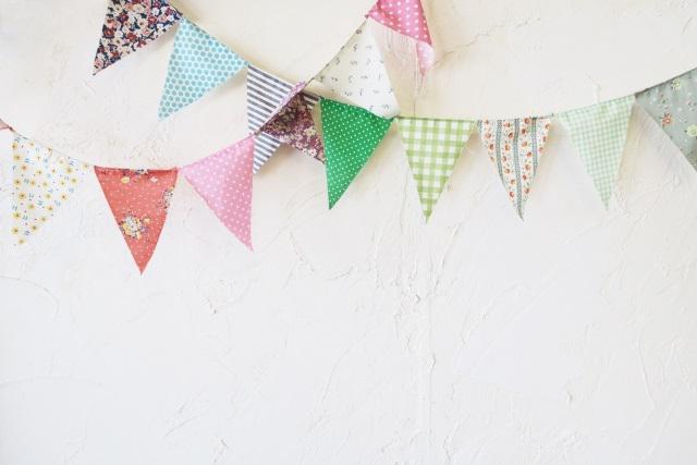 画像1: 【簡単DIY】型紙いらず「ガーランド」の作り方を紹介! キャンプやホームパーティーで飾りつけを楽しもう!