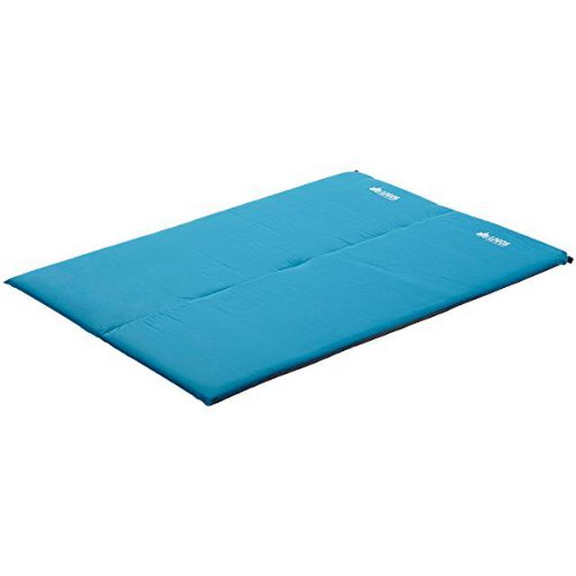 画像1: ロゴスのインフレーターマットは極厚で寝心地最高!ファミリーキャンプにおすすめ