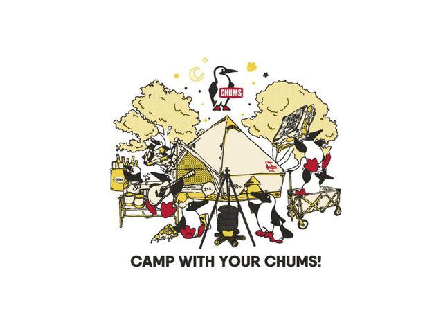 画像: 【展示会速報】CHUMS(チャムス)からおしゃれなポリコットンテントやタープが2020年春・夏に新登場! - ハピキャン(HAPPY CAMPER)