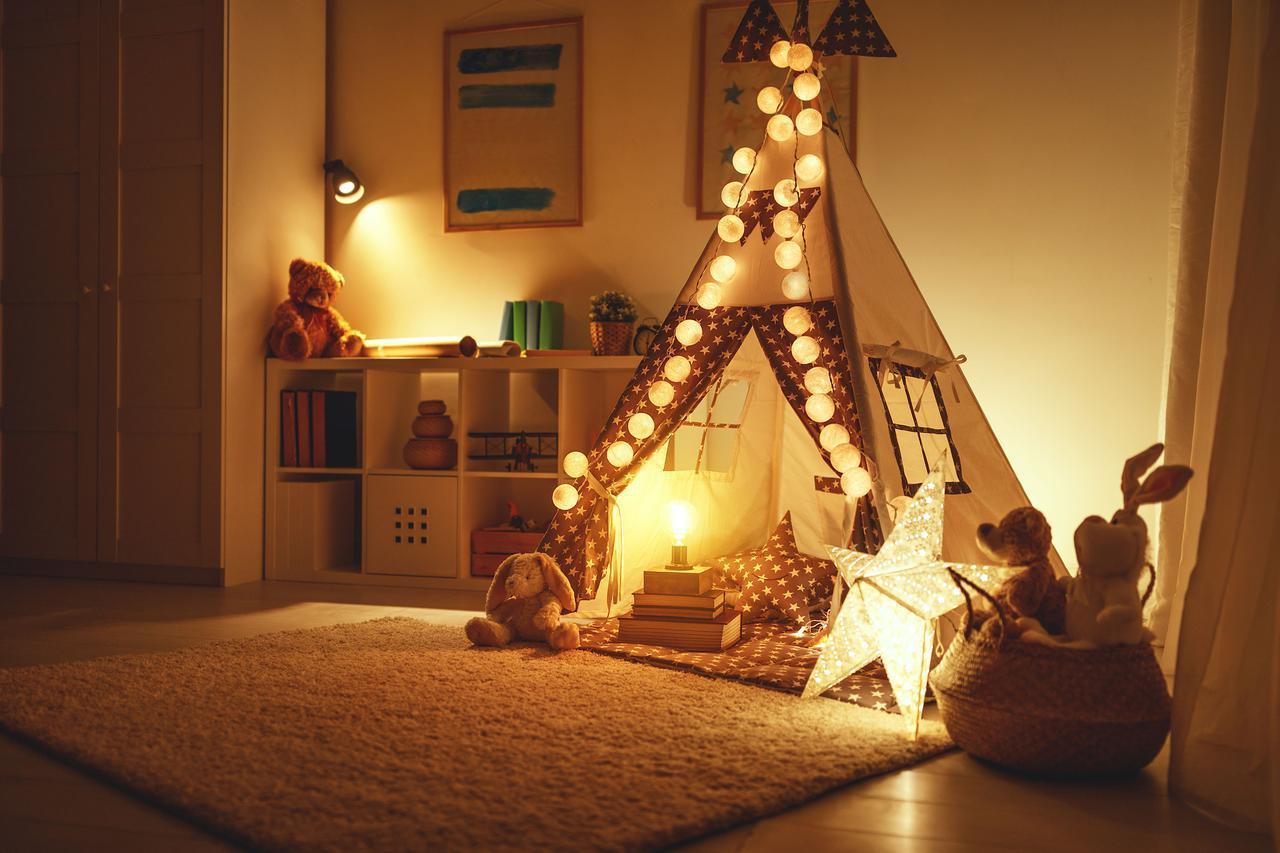 画像2: 室内用テントはインテリアにもなる「ティピー」タイプのキッズテントがおすすめ 部屋がおしゃれになる