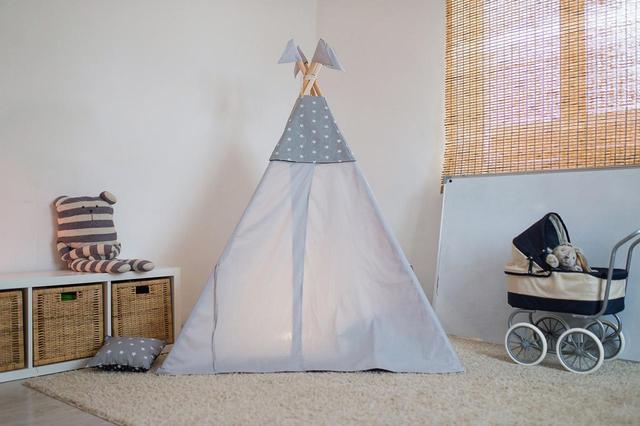 画像1: 室内用テントはインテリアにもなる「ティピー」タイプのキッズテントがおすすめ 部屋がおしゃれになる