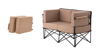 画像2: 「LOGOS(ロゴス)」から極上の座り心地ソファ「GLAMBASIC(グランベーシック)」シリーズ「グランプソファ2」を紹介