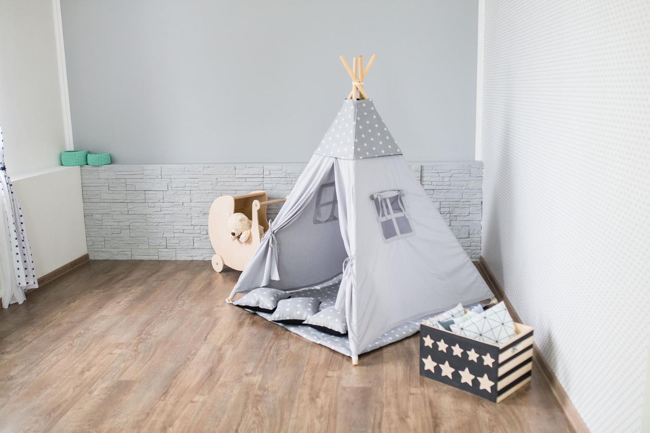 画像: 室内用テントはペグ不要で簡単設置のキッズテントがおすすめ 大人も子供も秘密基地を楽しもう