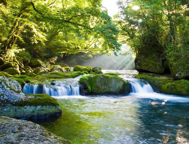 画像: 小川のせせらぎ イメージ