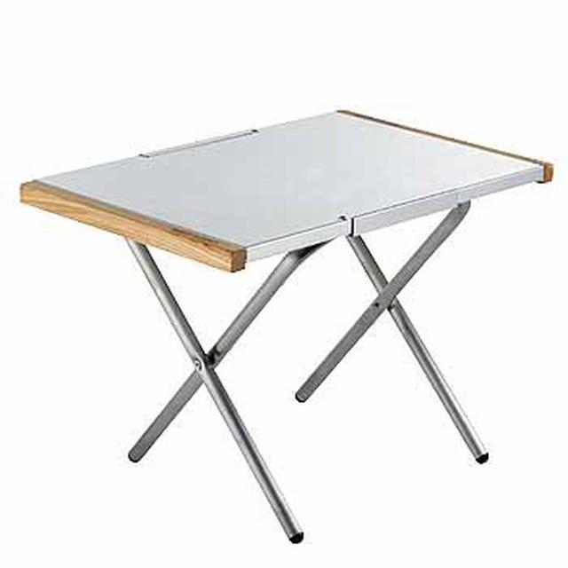 画像2: 【レビュー】コールマンのアウトドアテーブル「ナチュラルウッドロールテーブル」はファミリーにおすすめ