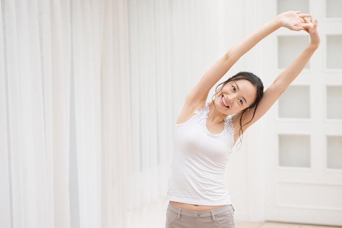 画像: 自宅での簡単なトレーニングで運動不足を解消しましょう