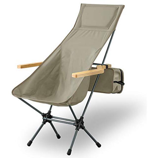 画像2: 自宅でソファ変わりに使える! おすすめアウトドアチェア・ハイバックチェア4選