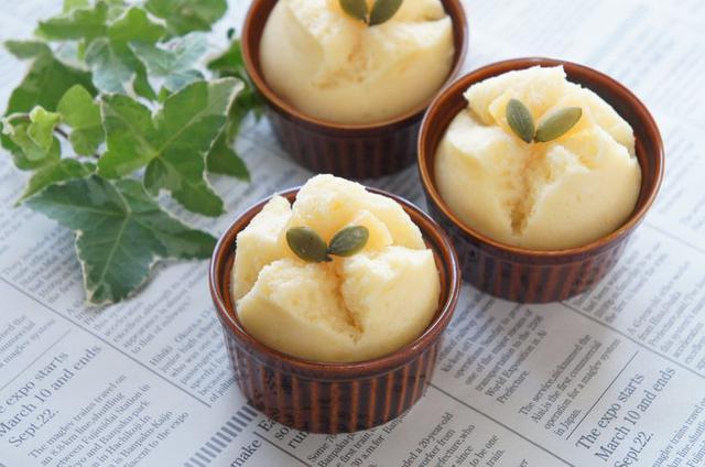 画像: ホットケーキミックス活用レシピ 2. シンプル蒸しパン