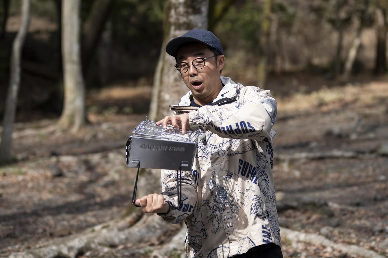 画像: 【キャンプギアチェック】ヒロシとソロキャンプ「おぎやはぎのハピキャン」で登場したギアたち - ハピキャン(HAPPY CAMPER)