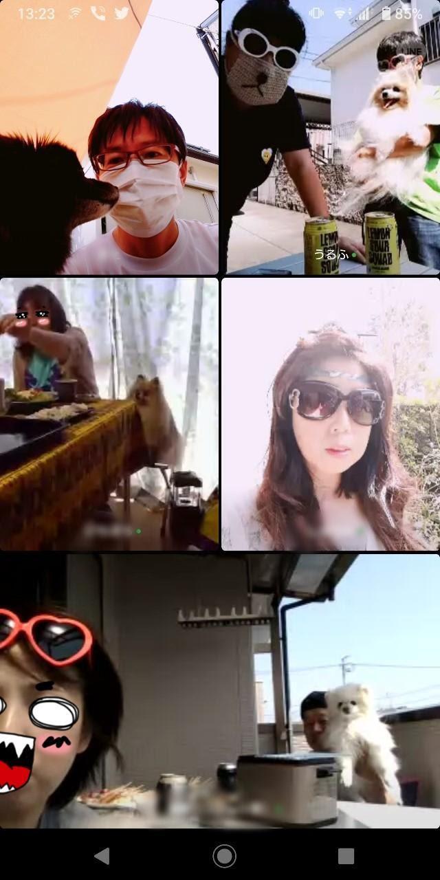 画像: 筆者撮影(顔バレ防止のため、みんな怪しげなサングラス+マスク姿で失礼します)