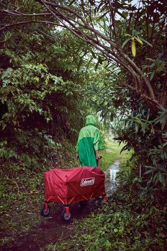 画像3: 【商品レビュー】コールマンのアウトドアワゴンはキャンプでも日常でも大活躍アイテム