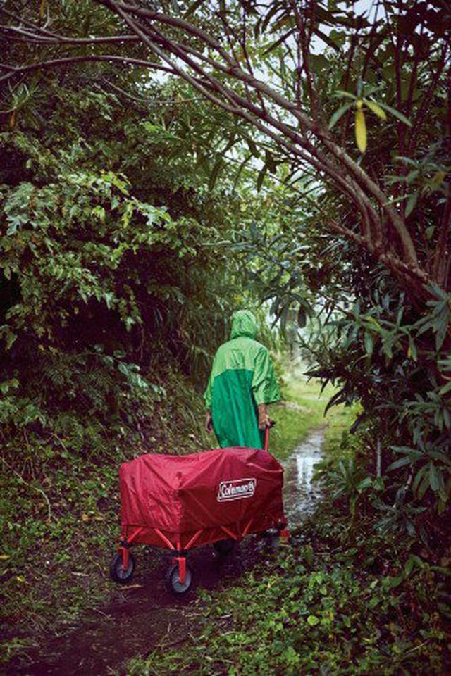 画像3: 【レビュー】コールマン・アウトドアワゴンはキャンプでも日常でも大活躍の万能アイテム!