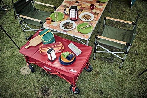 画像2: 【商品レビュー】コールマンのアウトドアワゴンはキャンプでも日常でも大活躍アイテム