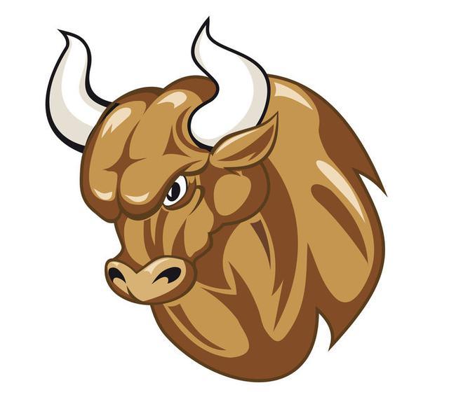 画像: 牡牛の角(つの)でブルホーン!そのまんまの形のハンドルです!