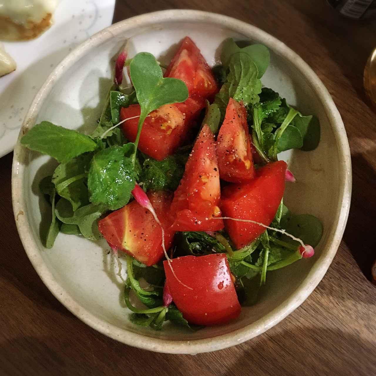 画像: 筆者撮影 シンプルにオリーブオイルと塩胡椒でいただきました。