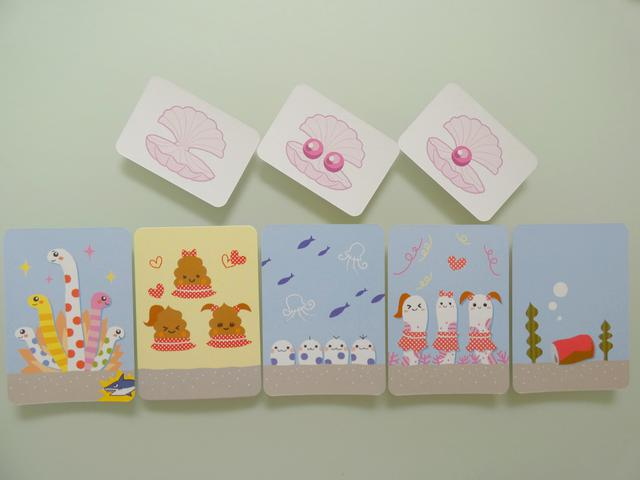 画像: 獲得したカードの例(筆者撮影)