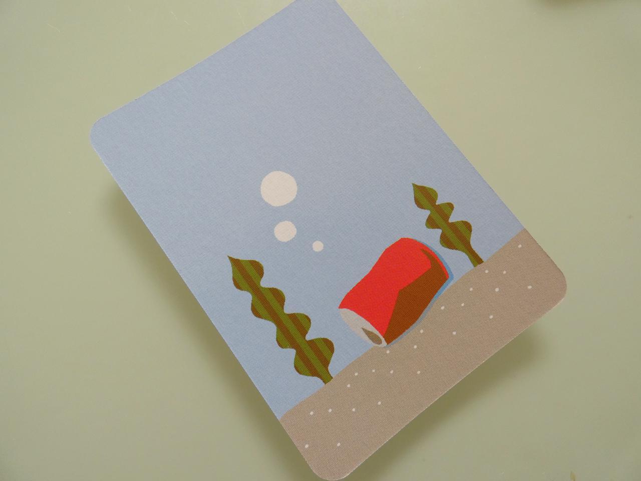 画像: 空き缶カード(筆者撮影)