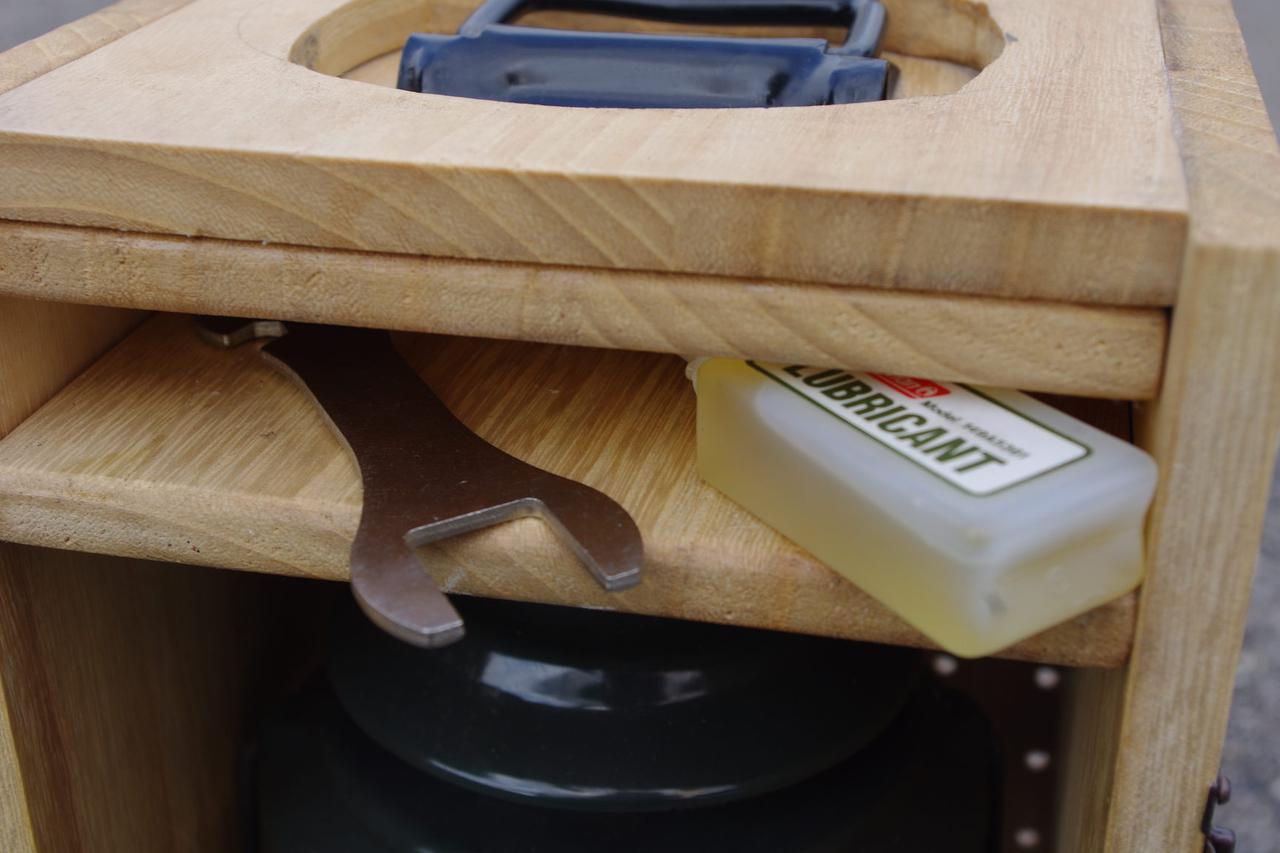 画像2: 【ランタンケースを簡単DIY】持ち運び楽! 人気コールマン286Aのランタンケース