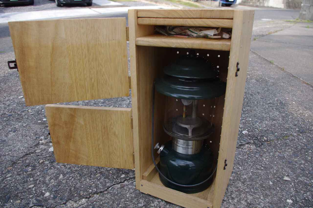 画像1: 【ランタンケースを簡単DIY】持ち運び楽! 人気コールマン286Aのランタンケース