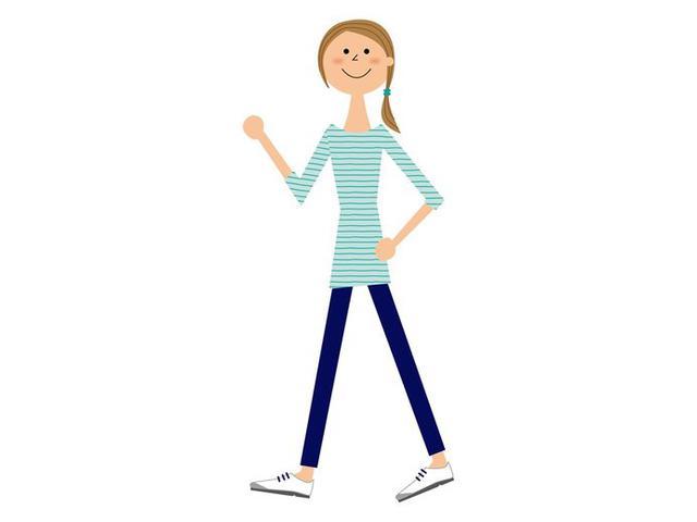 画像: 外出自粛中の健康維持のため、避難所まで歩いてみる
