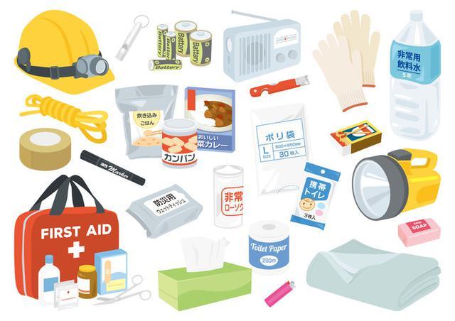 画像: おうち時間を使って、非常用持ち出し袋を準備する