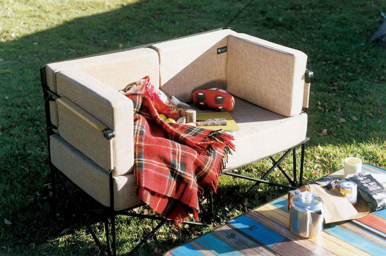 画像: 【注目リリース】「LOGOS(ロゴス)」から極上の座り心地ソファ「GLAMBASIC(グランベーシック)」シリーズから「グランプソファ2」が新発売! - ハピキャン(HAPPY CAMPER)
