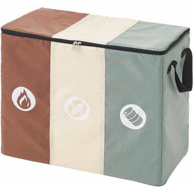 画像2: しっかりマナーを守ってゴミを分別! 機能的で便利なキャンプ用ゴミ箱おすすめ7選