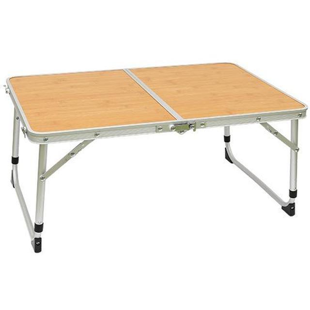 画像1: 【100均セリア活用術】リメイクシートを使ってキャンプテーブルを簡単リメイク!