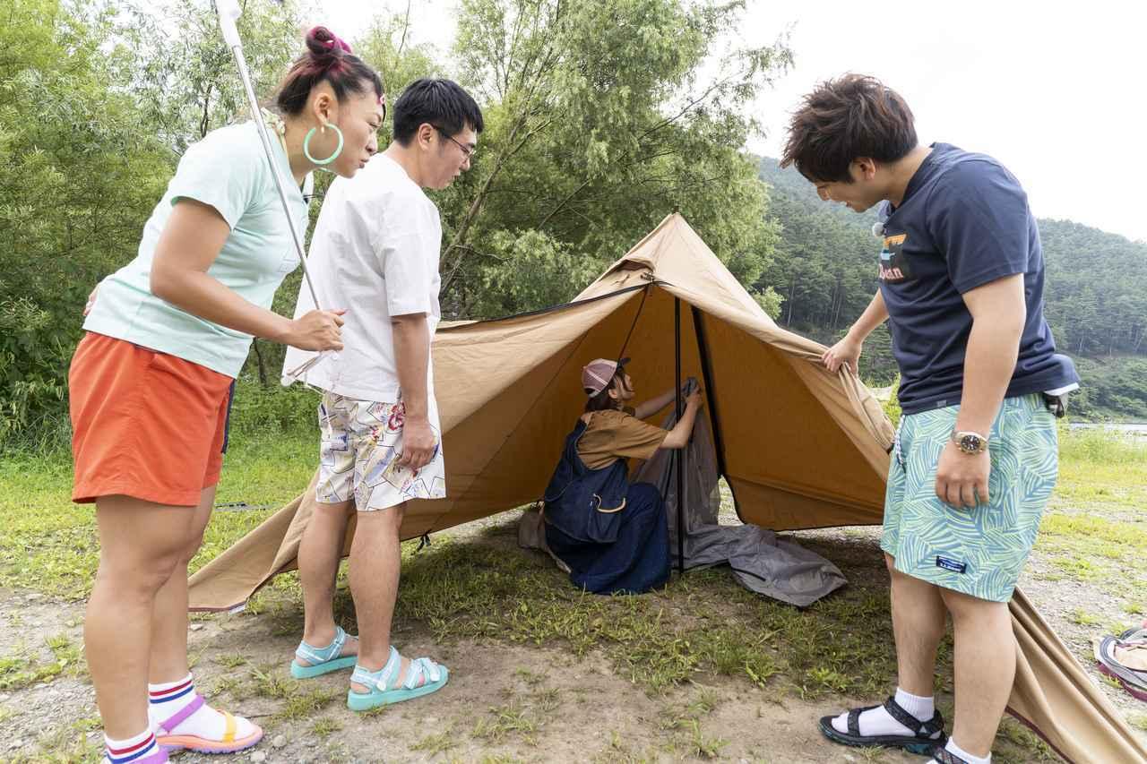 画像: こいしゆうかさん×テンマクデザインのパンダテント「PANDA」「PANDA TC」 - ハピキャン(HAPPY CAMPER)