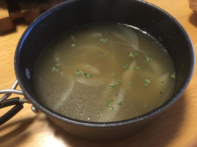 画像: 筆者撮影 コンソメスープ