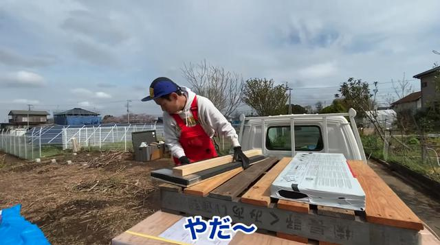 画像: 【タケト家の秘密基地作り#10】 小屋のキットの総重量はなんと500kg!