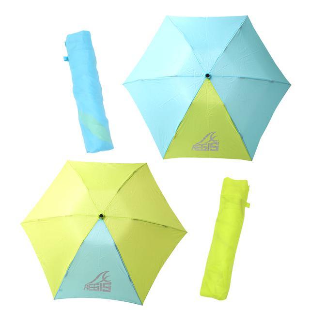 画像1: 【ワークマンで雨対策】サリーが折りたたみ傘2種類を徹底比較! 超軽量コンパクトとタフでビッグサイズ、どちらが好み?