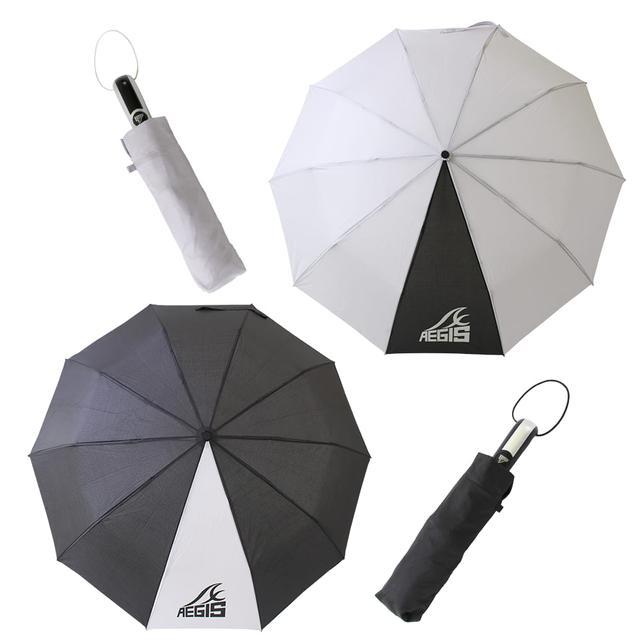 画像2: 【ワークマンで雨対策】サリーが折りたたみ傘2種類を徹底比較! 超軽量コンパクトとタフでビッグサイズ、どちらが好み?