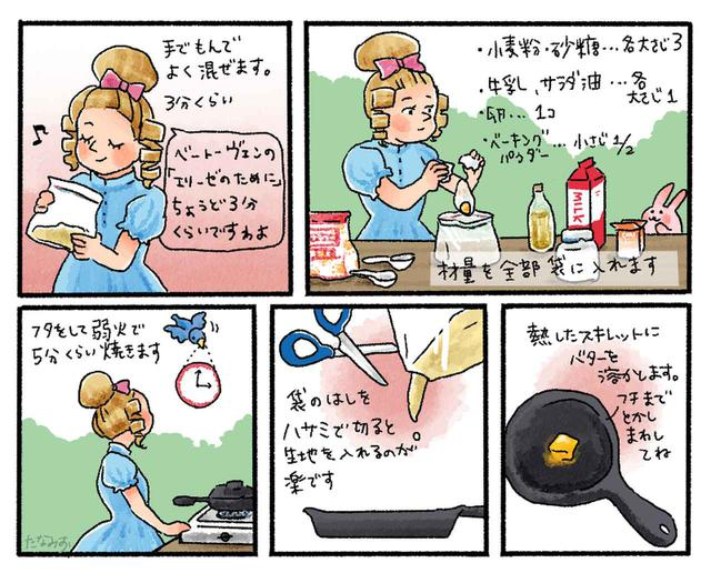 画像1: 【レシピ】基本のスキレットケーキの作り方