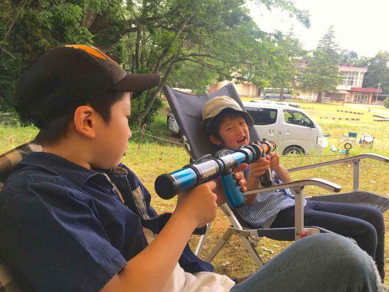 画像: 玉拾いは大変ですが、空気銃も周囲を気にせず打ち合えます(笑) campeena.com