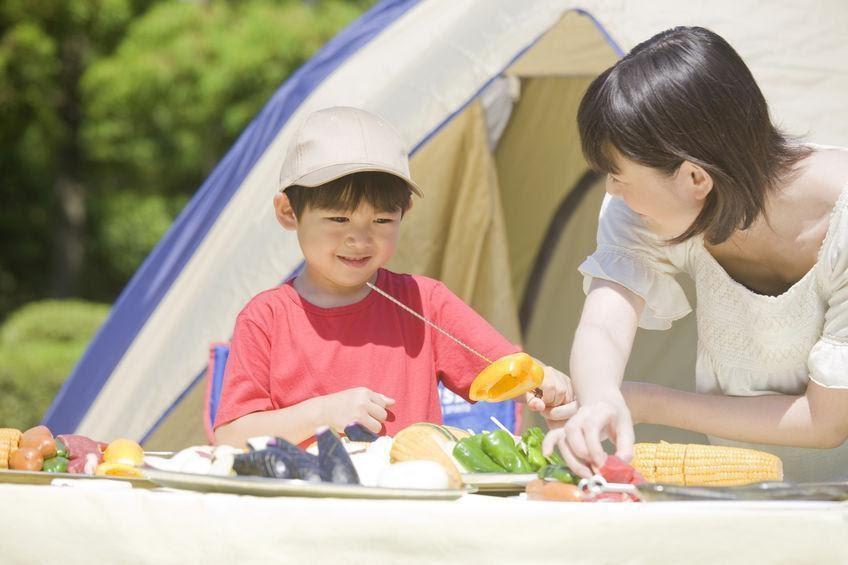 画像: 【スノーピークのエントリーIGT】はローチェアとの相性抜群! ローチェアと合わせて子連れキャンプにも◎