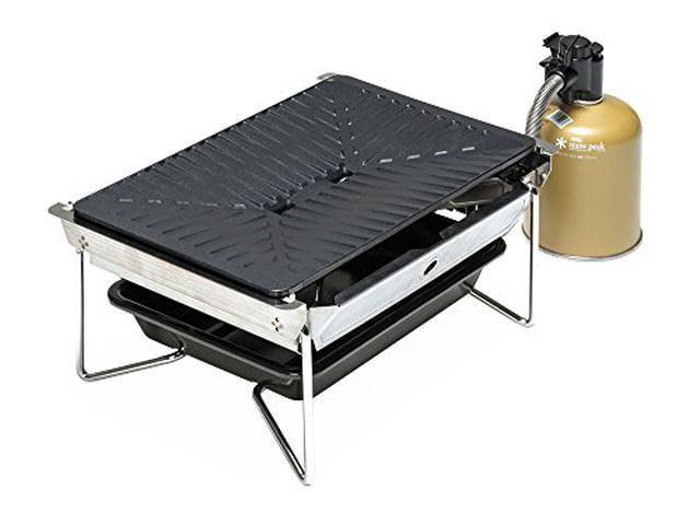 画像2: スノーピークのテーブル「エントリーIGT」はベランピング向き! 自由なカスタマイズでBBQも