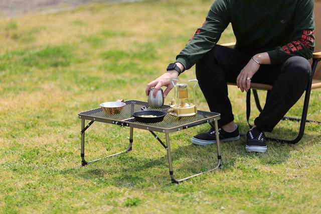 画像: 【注目リリース】「QUICKCAMP(クイックキャンプ )」から250度までOKな耐熱性と使い勝手を兼ね揃えたフルメッシュの折りたたみ式アウトドア用テーブルが登場! - ハピキャン(HAPPY CAMPER)