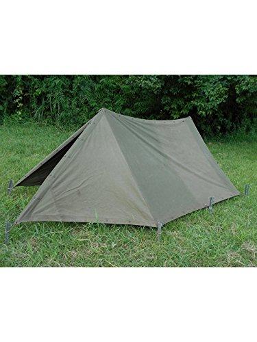 画像1: 【レビュー】軍用テント「F1テント」を紹介 ソロキャンプにおすすめな軍用アイテムも!