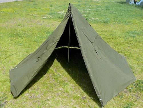 画像2: 【レビュー】軍用テント「F1テント」を紹介 ソロキャンプにおすすめな軍用アイテムも!