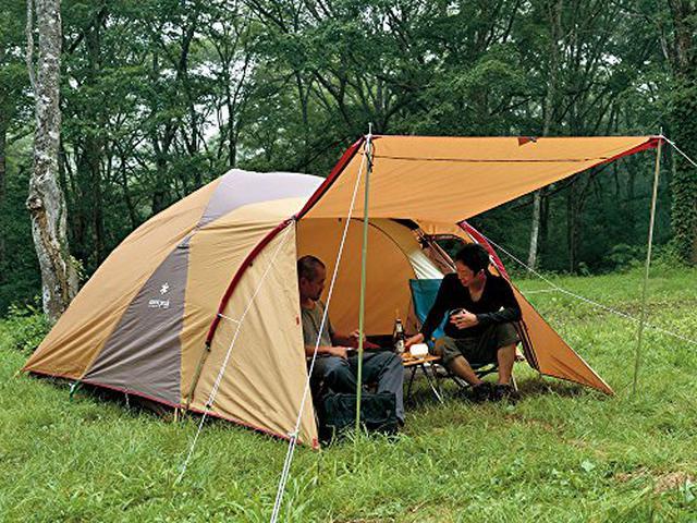 画像5: キャンプ初心者のファミリー向け! 家族の人数別におすすめのドームテント7選をご紹介