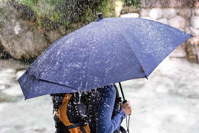 画像: Euro SCHIRM(ユーロシルム)アンブレラが新登場 背中&荷物を雨からガードする傘 - ハピキャン(HAPPY CAMPER)