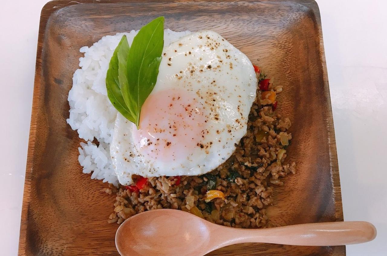 画像: タイ料理の定番・ガパオライスの簡単レシピ!アウトドア調理で役立つ3つのアイテムもご紹介! - ハピキャン(HAPPY CAMPER)