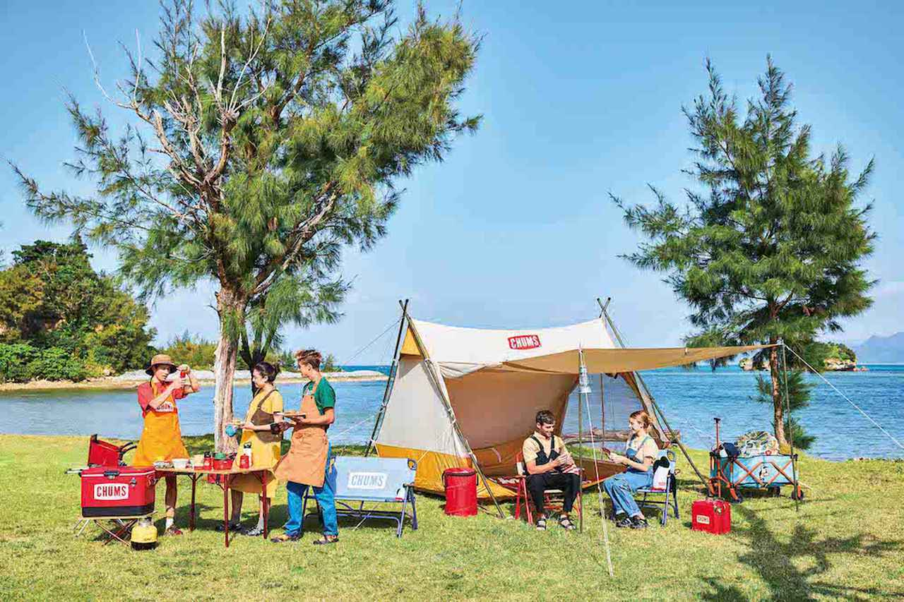 画像: 【注目リリース】遊び心溢れるCHUMS(チャムス)の新作テントやタープが登場! - ハピキャン(HAPPY CAMPER)