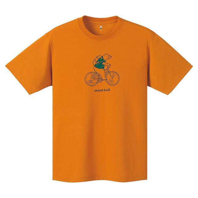 画像1: 【レビュー】モンベルの「ウイックロンTシャツ」は梅雨や夏に最適! 驚異の速乾&通気性で快適