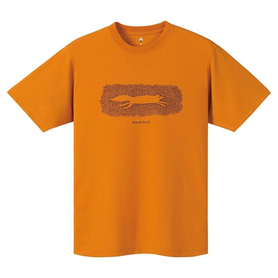 画像2: 【レビュー】モンベルの「ウイックロンTシャツ」は梅雨や夏に最適! 驚異の速乾&通気性で快適