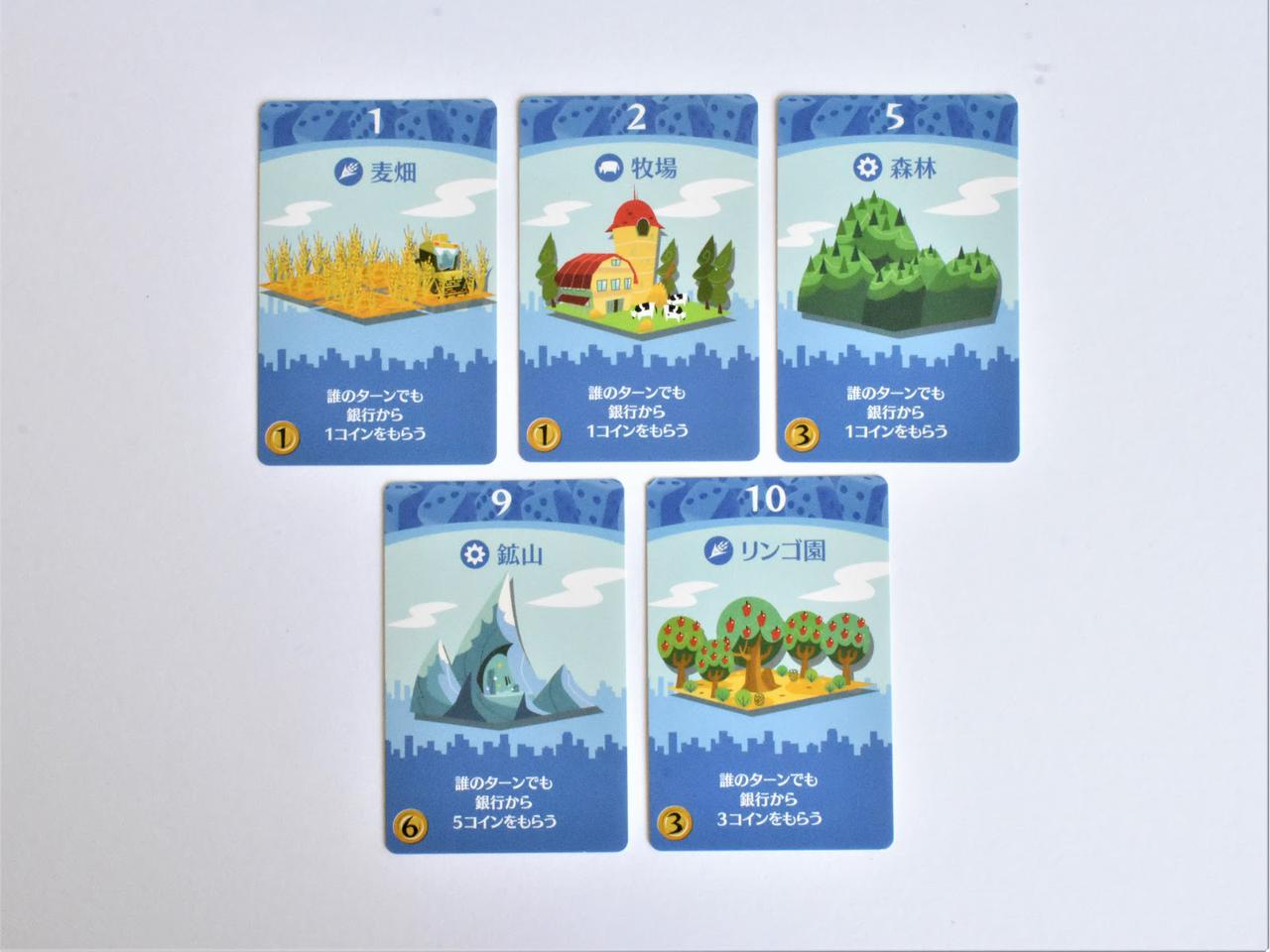 画像: 第1次産業カード (筆者撮影)